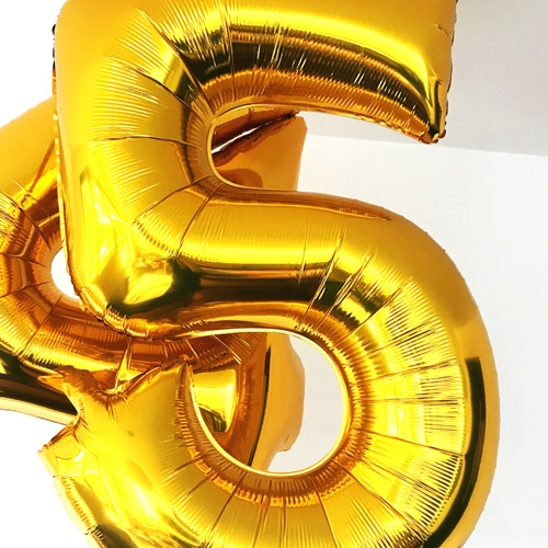 Large Foil Number Balloons Image