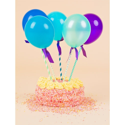 Blue Balloon Pops Image