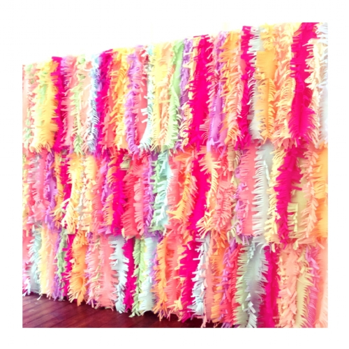 Ruffled fringing Image