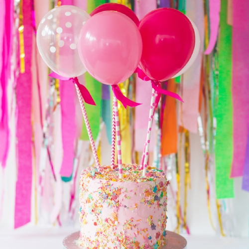 Pink Balloon Pops Image